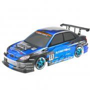 Радиоуправляемая машина для дрифта 1:10 4WD Subaru, сине-черный (36 см)